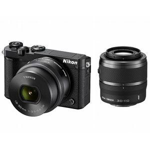 ニコン デジタル一眼カメラ ダブルズームキット ブラック Nikon 1 J5