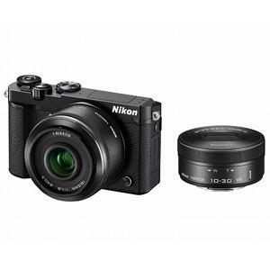 ニコン デジタル一眼カメラ ダブルレンズキット ブラック Nikon 1 J5
