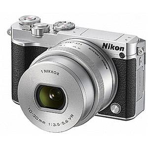 ニコン デジタル一眼カメラ 標準パワーズームレンズキット シルバー Nikon 1 J5