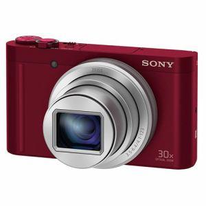 ソニー デジタルカメラ Cyber-shot(サイバーショット) レッド DSC-WX500-R