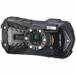 リコー コンパクトデジタルカメラ 「RICOH WG-40」(ブラック) WG-40-BK