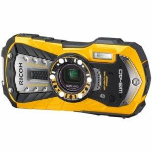 リコー コンパクトデジタルカメラ 「RICOH WG-40」(イエロー) WG-40-YE