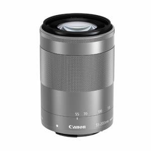 【クリックで詳細表示】キヤノン 交換用レンズ EF-M55-200mm F4.5-6.3 IS STM シルバー EFM55-200ISSTMSL