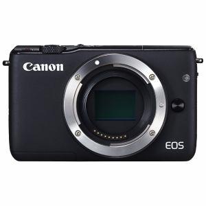 【クリックでお店のこの商品のページへ】キヤノン ミラーレス一眼カメラ 「EOS M10」ボディ(ブラック) EOSM10BK-BODY
