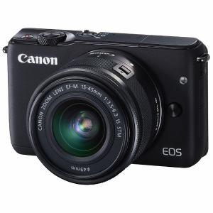 キヤノン ミラーレス一眼カメラ 「EOS M10」EF-M15-45 IS STMレンズキット(ブラック) EOSM10BK-1545ISSTMLK