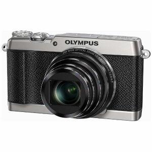 オリンパス コンパクトデジタルカメラ STYLUS(スタイラス) 「SH-3」 シルバー SH-3-SLV