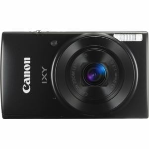キヤノン デジタルカメラ「IXY 190」 ブラック IXY190(BK)
