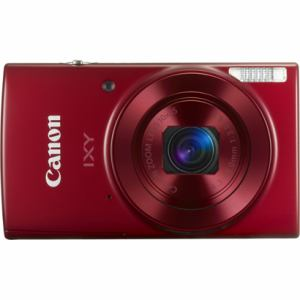キヤノン デジタルカメラ「IXY 190」 レッド IXY190(RE)