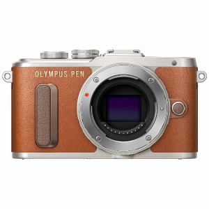 オリンパス EPL8-BODY-BRW ミラーレスデジタル一眼カメラ「PEN E-PL8」ボディ ブラウン