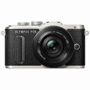 オリンパス EPL8-LKIT-BLK ミラーレスデジタル一眼カメラ「PEN E-PL8」14-42mm EZレンズキット ブラック