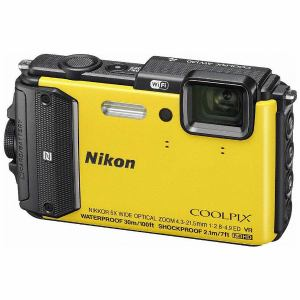 ニコン AW130-YW コンパクトデジタルカメラ COOLPIX(クールピクス) AW130(イエロー)