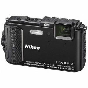 ニコン AW130-BK コンパクトデジタルカメラ COOLPIX(クールピクス) AW130(ブラック)