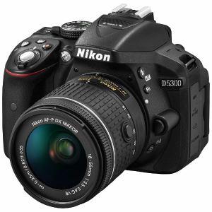 ニコン D5300 デジタル一眼カメラ 「D5300 AF-P」 18-55 VR レンズキット ブラック