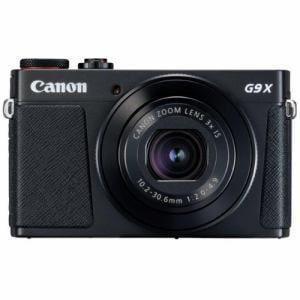 キヤノン PSG9XMK2BK コンパクトデジタルカメラ PowerShot(パワーショット) G9 X Mark II(ブラック)