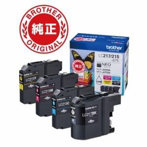 ブラザー LC217/215-4PK インクカートリッジ 大容量タイプ (4色セット)