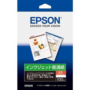 エプソン 【純正】 インクジェット普通紙 (A5・100枚) KA5100NP
