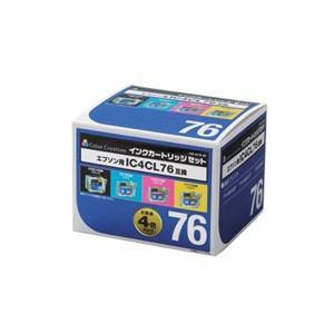 カラークリエーション Color Creation インクカートリッジセット CIE-IC76-4P