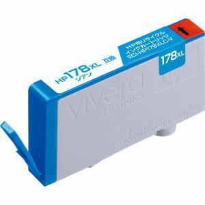 エコリカ ECI-HP178XLC-V HP CB323HJ 互換 大容量 リサイクルインクカートリッジ シアン