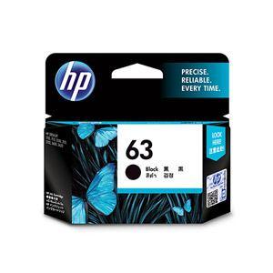 ヒューレットパッカード 【純正】 HP63 インクカートリッジ (黒) F6U62AA