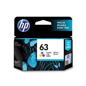 ヒューレットパッカード 【純正】 HP63 インクカートリッジ (カラー) F6U61AA