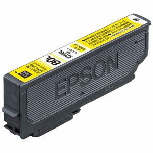 エコリカ ECI-E80L-Y ICBK80L互換リサイクルインクカートリッジ イエロー