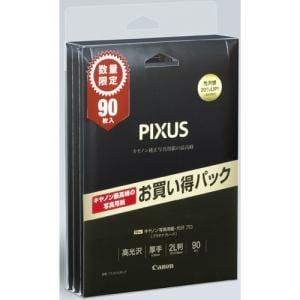 キヤノン PT-2012L90-LP 写真用紙・光沢 プロ プラチナグレード 2L判 90枚 Limited Pack