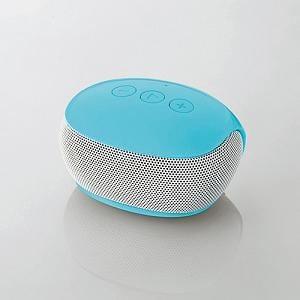 エレコム Bluetoothモノラルスピーカー (ブルー) LBT-SPP20BU