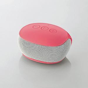 エレコム Bluetoothモノラルスピーカー (ピンク) LBT-SPP20PN