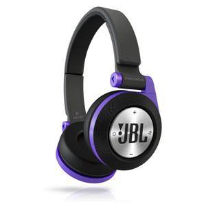 JBL Bluetoothワイヤレスオンイヤーヘッドホン SYNCHROS E40BT パープル E40BTPUR