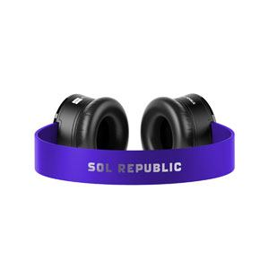 SOLREPUBLIC(ソルリパブリック) SOLSTPRP TRACKS専用ヘッドバンド (プログレッシブパープル)