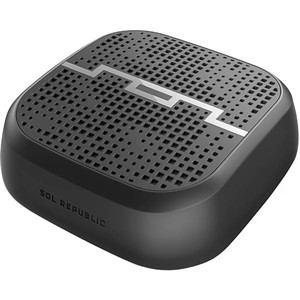 ソルリパブリック Bluetooth対応 ワイヤレススピーカー ブラック SOLPUNK/BLK