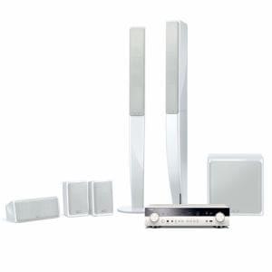 ヤマハ 5.1chホームシアターパッケージ 【RX-S601(ホワイト)+NS-PA40(ホワイト)】 YHT-903JP-W