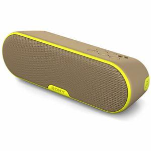 ソニー 防水対応 Bluetooth対応ワイヤレスポータブルスピーカー カーキイエロー SRS-XB2-Y