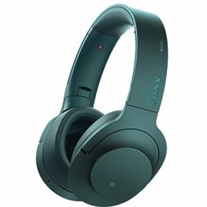 ソニー 【ハイレゾ音源対応】 Bluetooth対応ノイズキャンセリング搭載ダイナミック密閉型ヘッドホン ビリジアンブルー MDR-100ABN-L