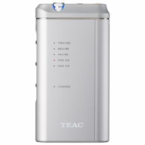 ティアック ポータブルヘッドフォンアンプ/DAC シルバー HA-P5/D