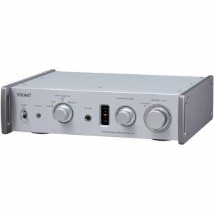 ティアック フルアナログ・デュアルモノーラル ヘッドホンアンプ シルバー HA-501-SP/S/D