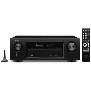 デノン AVR-X1300W-K 【ハイレゾ音源対応】 7.2ch AVサラウンドレシーバー ブラック
