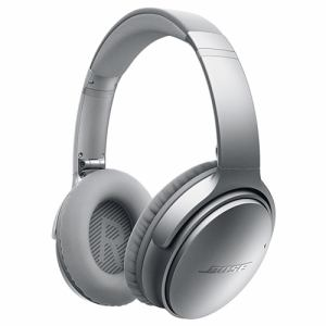 BOSE(ボーズ) QUIETCOMFORT35SLV ノイズキャンセリング機能搭載Bluetoothヘッドホン(シルバー)