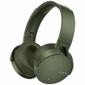 ソニー MDRXB950N1GM Bluetooth対応ノイズキャンセリング搭載 ワイヤレスステレオヘッドセット(グリーン)