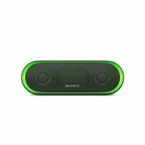 ソニー SRS-XB20-G Bluetooth対応 ワイヤレスポータブルスピーカー グリーン