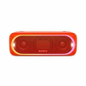ソニー SRS-XB30-R Bluetooth対応 ワイヤレスポータブルスピーカー オレンジレッド
