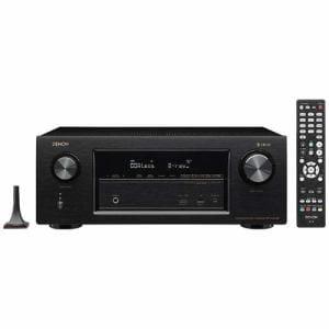 デノン AVR-X2400H-K 【ハイレゾ音源対応】 7.2ch AVサラウンドレシーバー ブラック