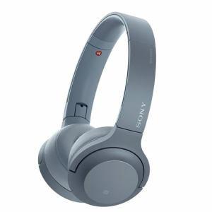 ソニー WH-H800-L 【ハイレゾ音源対応】 ワイヤレスステレオヘッドセット 「h.ear on 2 Mini Wireless」 ムーンリットブルー