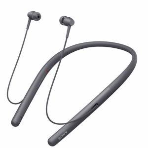 ソニー WI-H700-B 【ハイレゾ音源対応】 ワイヤレスステレオヘッドセット 「h.ear in 2 Wireless」 グレイッシュブラック