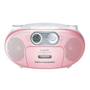 HITACHI CDラジオカセットレコーダー (ピンク) CK-5Y P