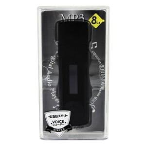 ステイヤー MP3プレーヤー Ver.2 / 8GB (ブラック) ST-PMP02BK