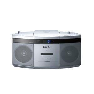 日立 ヤマダ電機オリジナルモデル CDラジオカセットレコーダー シルバー CK-7Y-S
