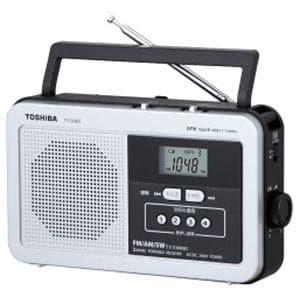 東芝 AM/FM/SW ホームラジオ TY-SHR3-S