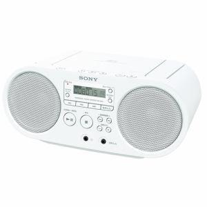ソニー CDラジオ(ホワイト) ZS-S40-W