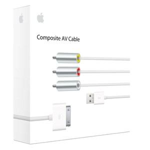 アップル(Apple) コンポジットAVケーブル MC748AM/A